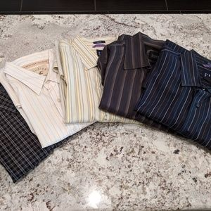 Other - Men's Long Sleeved Button Down 5-shirt bundle